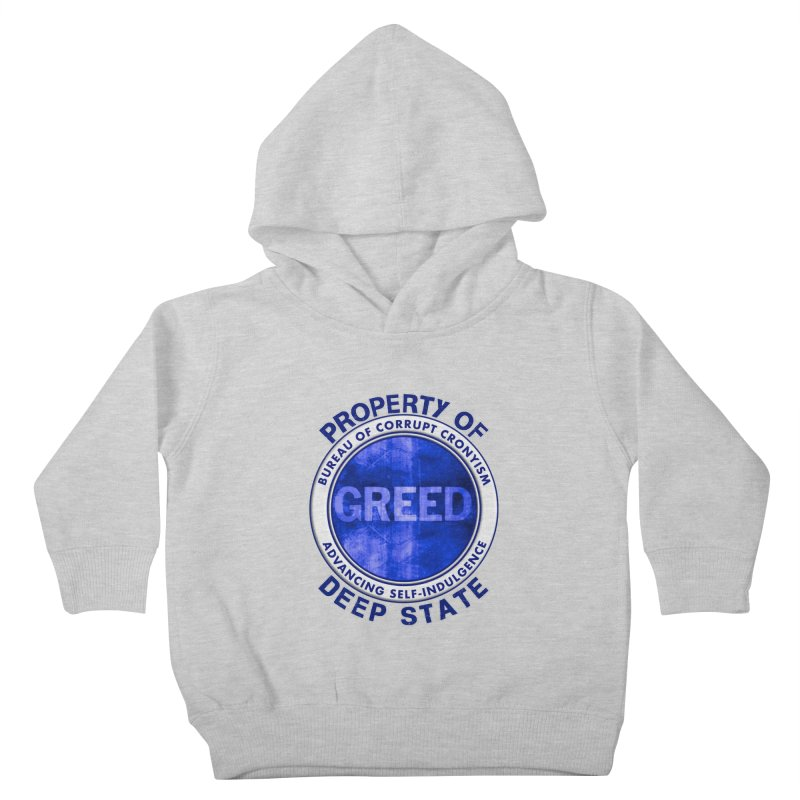 Property of Deep State Kids Toddler Pullover Hoody by Leading Artist Shop