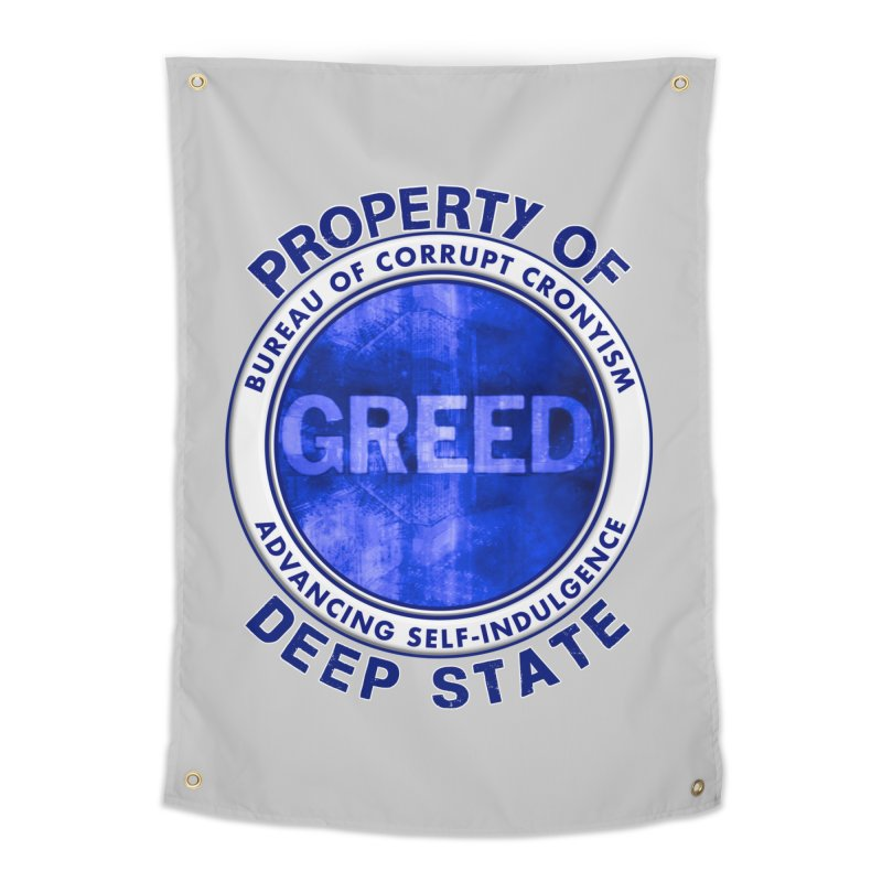 Property of Deep State Home Tapestry by Leading Artist Shop