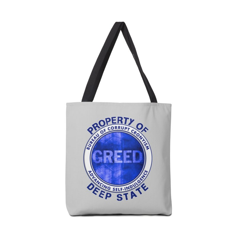 Property of Deep State Accessories Tote Bag Bag by Leading Artist Shop