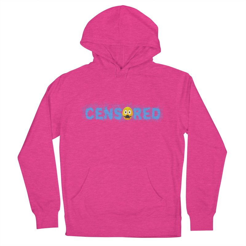 Censored Men's French Terry Pullover Hoody by Leading Artist Shop