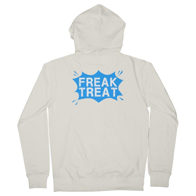 Freak Treat Men's French Terry Zip-Up Hoody by Leading Artist Shop