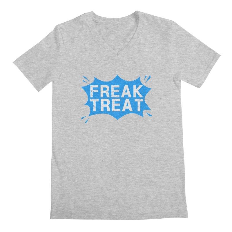 Freak Treat Men's Regular V-Neck by Leading Artist Shop