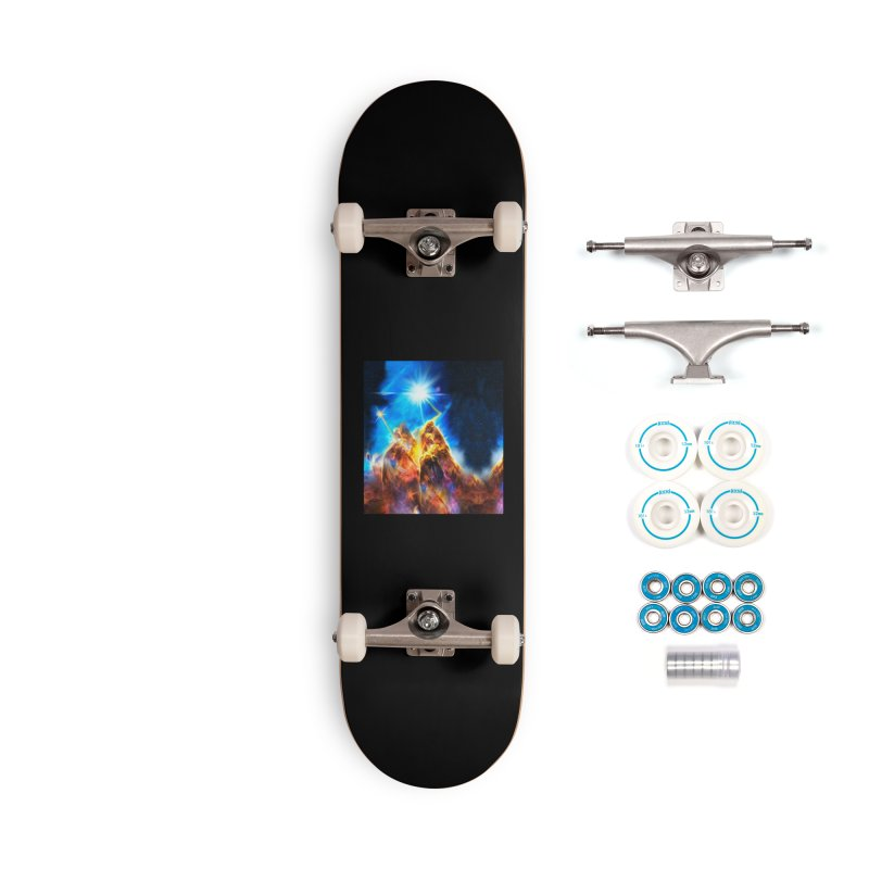 Nebula By Leading Accessories Complete - Basic Skateboard by Leading Artist Shop