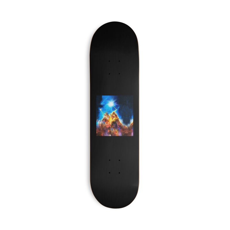Nebula By Leading Accessories Deck Only Skateboard by Leading Artist Shop