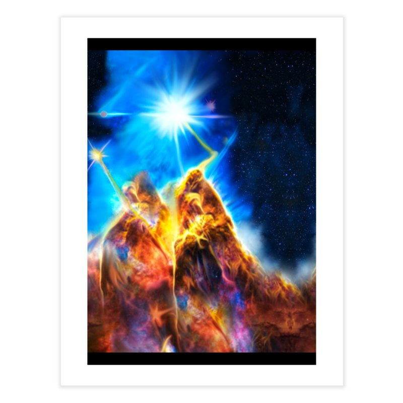 Nebula By Leading Home Fine Art Print by Leading Artist Shop