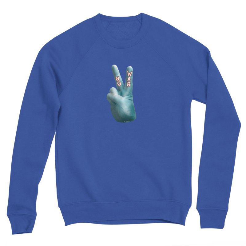 No War - Shirts Hoodies Stickers n More Men's Sponge Fleece Sweatshirt by Leading Artist Shop