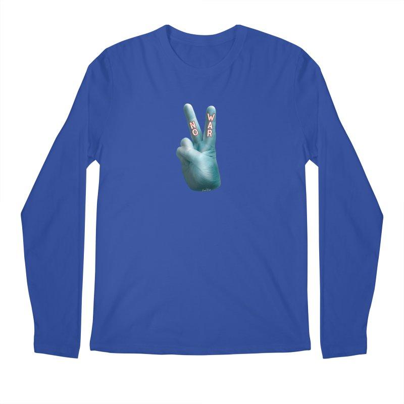 No War - Shirts Hoodies Stickers n More Men's Regular Longsleeve T-Shirt by Leading Artist Shop