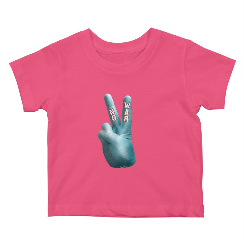 No War - Shirts Hoodies Stickers n More Kids Baby T-Shirt by Leading Artist Shop