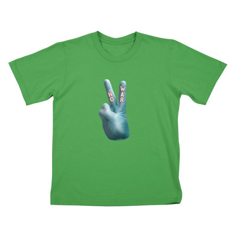 No War - Shirts Hoodies Stickers n More Kids T-Shirt by Leading Artist Shop