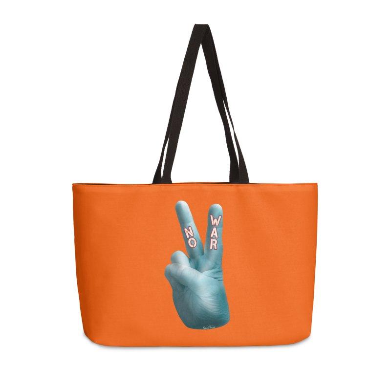 No War - Shirts Hoodies Stickers n More Accessories Weekender Bag Bag by Leading Artist Shop