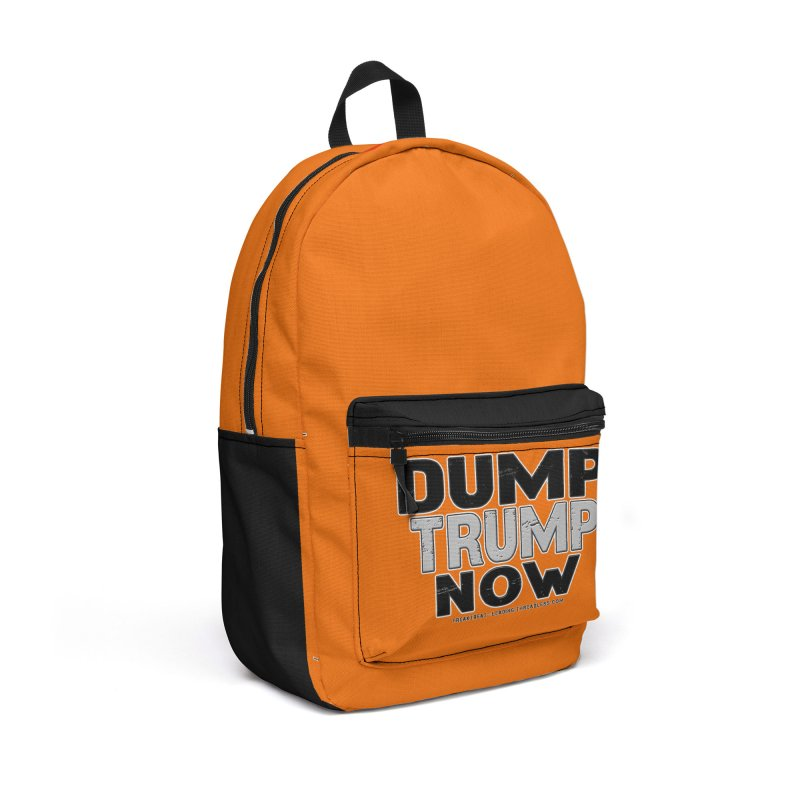 Dump Trump Now Shirts Stickers n More Accessories Backpack Bag by Leading Artist Shop