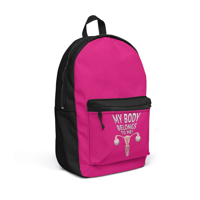 My Body Belongs To Me Accessories Backpack Bag by Leading Artist Shop