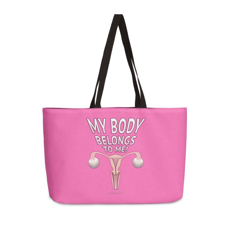 My Body Belongs To Me Accessories Weekender Bag Bag by Leading Artist Shop