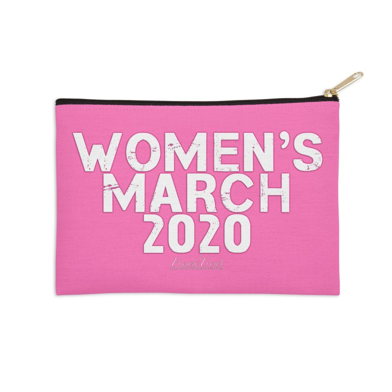Women's March 2020 Shirts Hoodies n More Accessories Zip Pouch by Leading Artist Shop