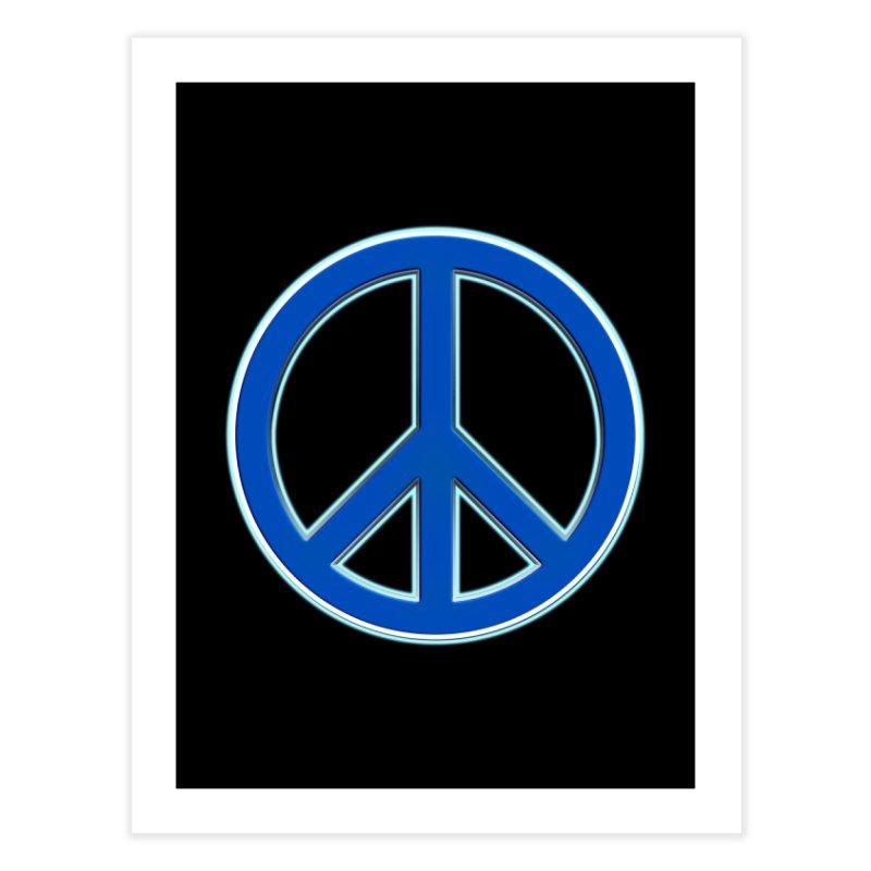 Peace Symbol No War Home Fine Art Print by Leading Artist Shop