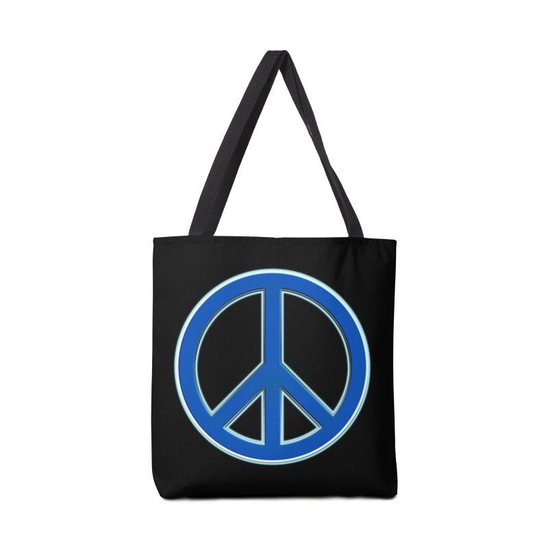 Peace Symbol No War Accessories Tote Bag Bag by Leading Artist Shop