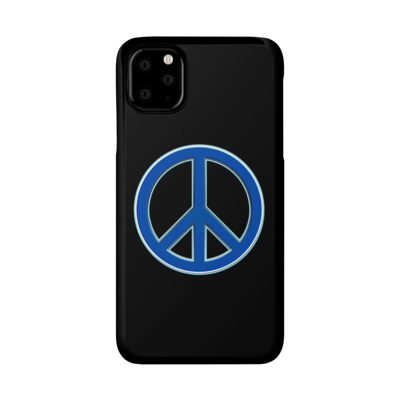 Peace Symbol No War Accessories Phone Case by Leading Artist Shop