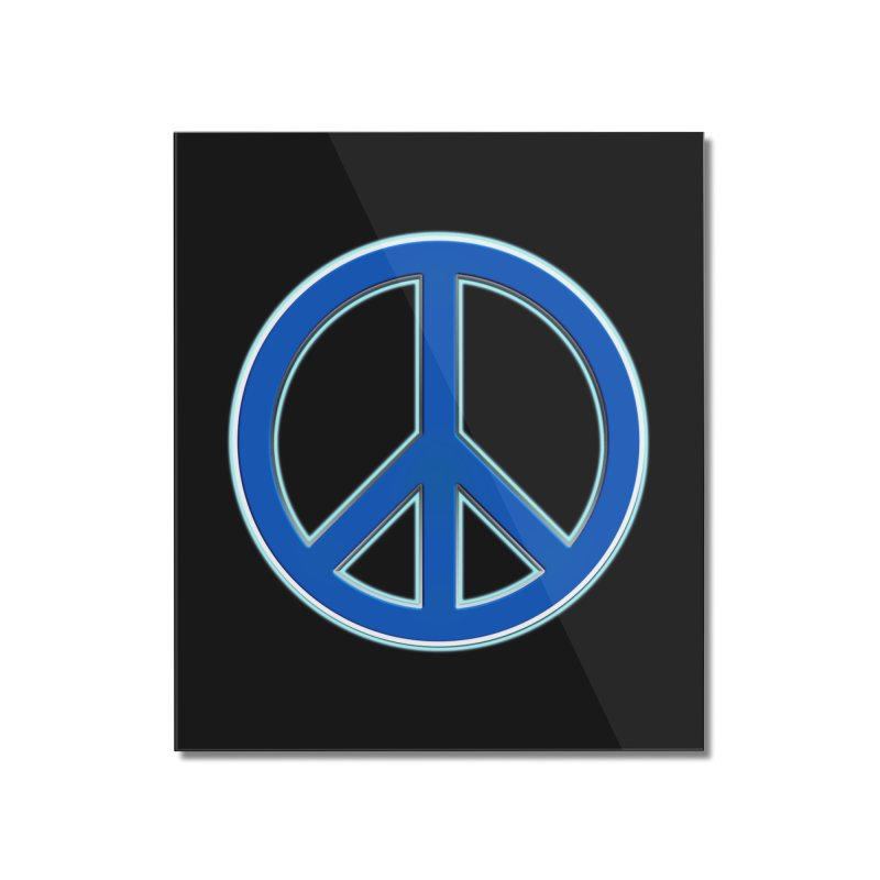 Peace Symbol No War Home Mounted Acrylic Print by Leading Artist Shop