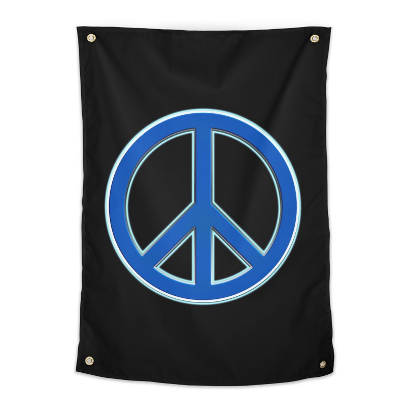 Peace Symbol No War Home Tapestry by Leading Artist Shop