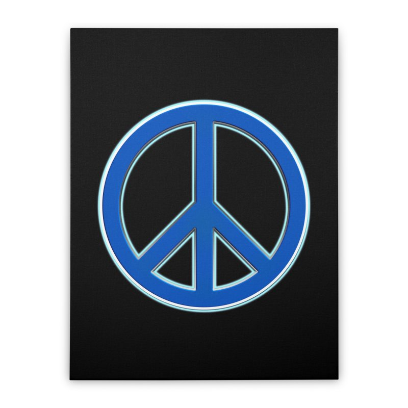 Peace Symbol No War Home Stretched Canvas by Leading Artist Shop