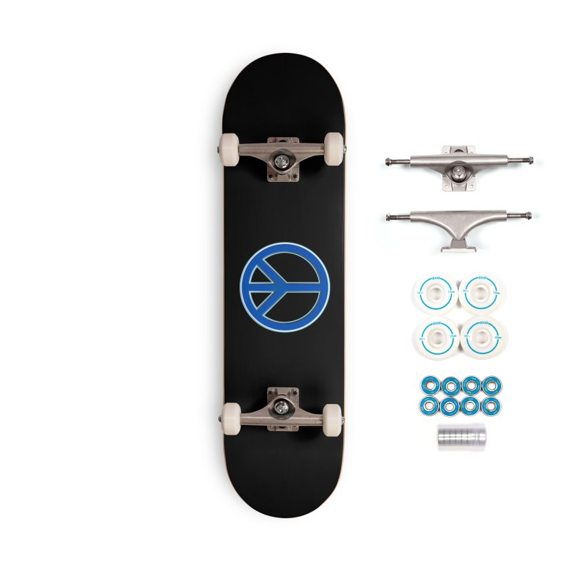 Peace Symbol No War Accessories Complete - Basic Skateboard by Leading Artist Shop