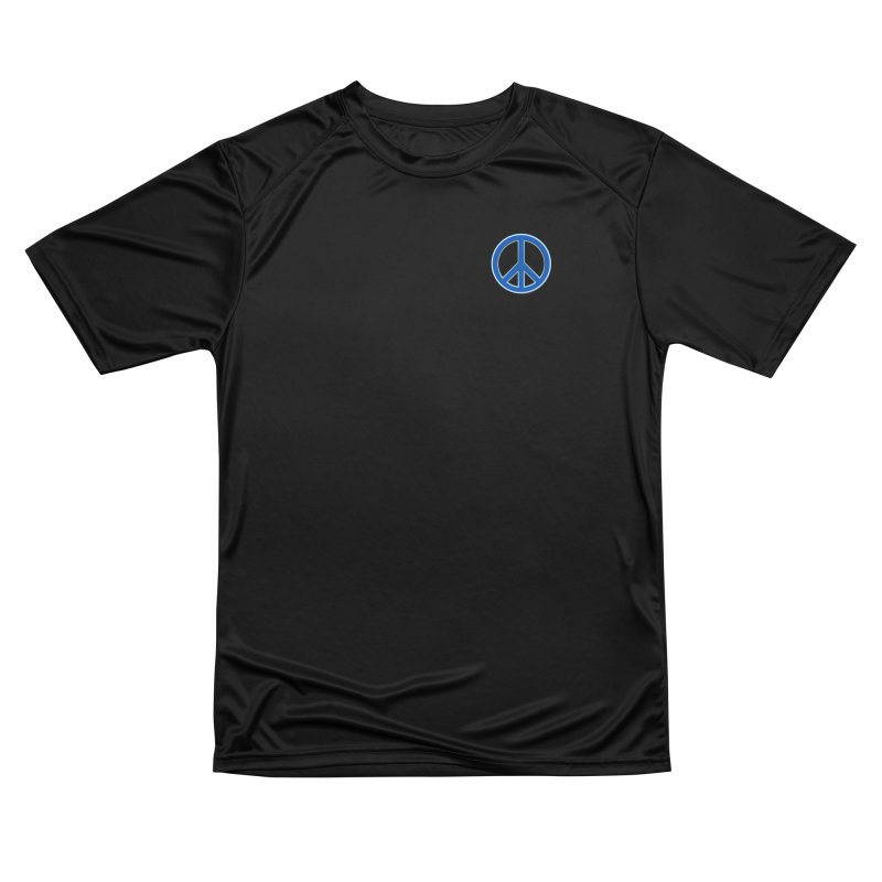 Peace Symbol No War Men's Performance T-Shirt by Leading Artist Shop