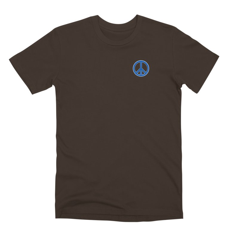 Peace Symbol No War Men's Premium T-Shirt by Leading Artist Shop