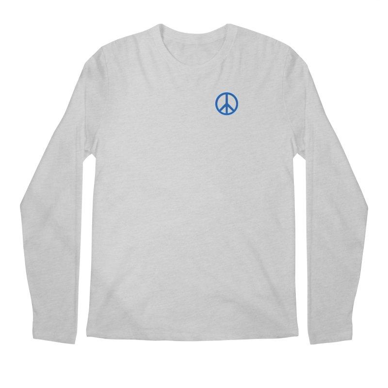 Peace Symbol No War Men's Regular Longsleeve T-Shirt by Leading Artist Shop