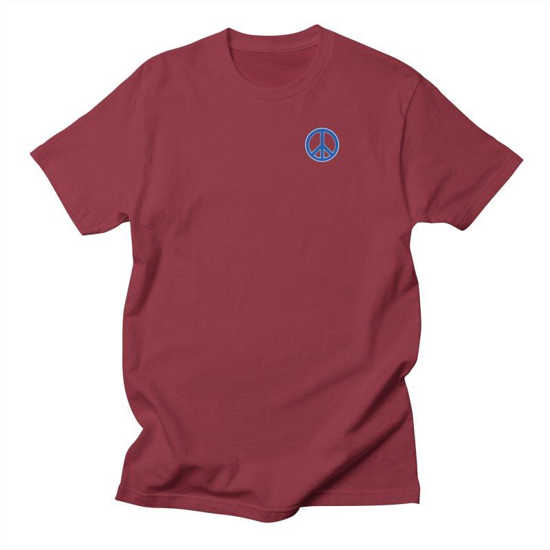 Peace Symbol No War Women's Regular Unisex T-Shirt by Leading Artist Shop