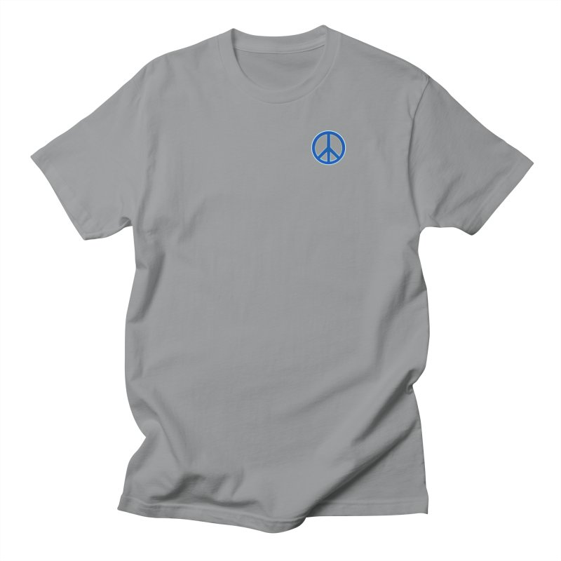 Peace Symbol No War Men's Regular T-Shirt by Leading Artist Shop