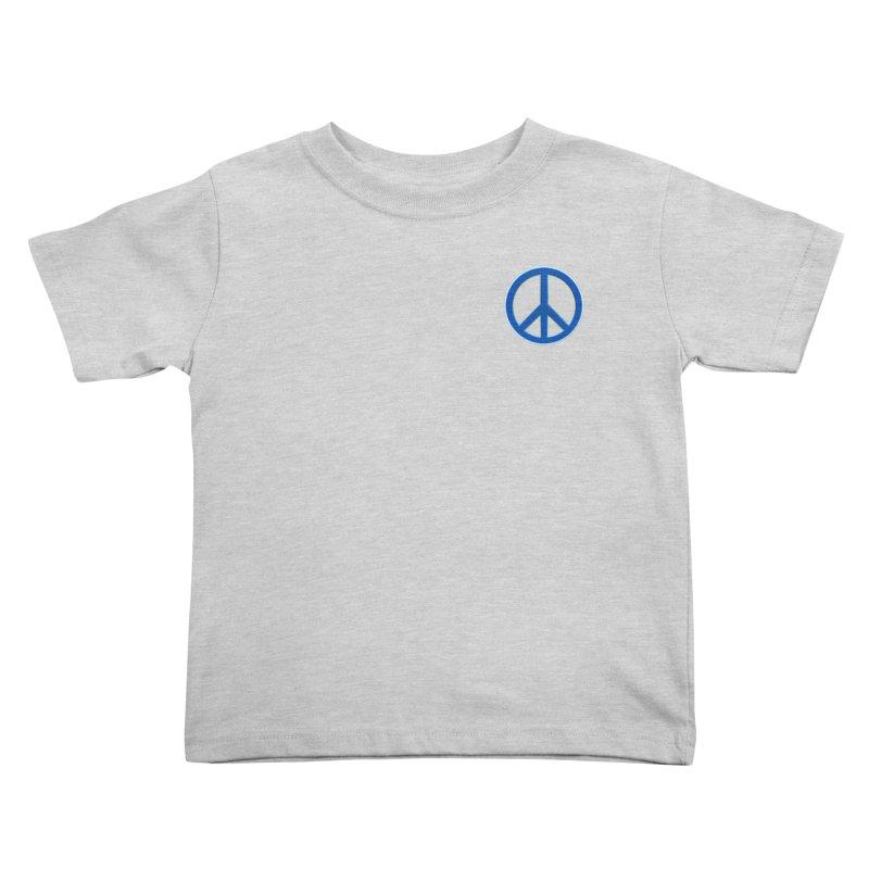 Peace Symbol No War Kids Toddler T-Shirt by Leading Artist Shop