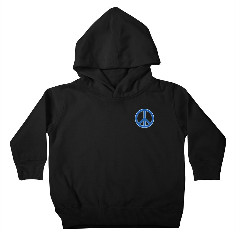 Peace Symbol No War Kids Toddler Pullover Hoody by Leading Artist Shop