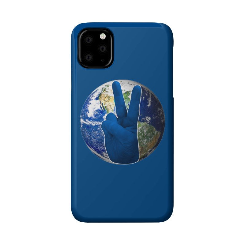 Peace Earth | Pantone 2020 Accessories Phone Case by Leading Artist Shop