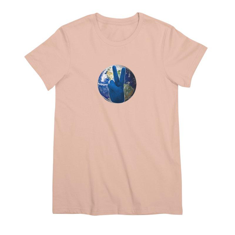 Peace Earth | Pantone 2020 Women's Premium T-Shirt by Leading Artist Shop