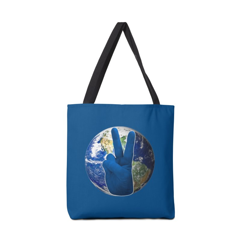 Peace Earth | Pantone 2020 Accessories Tote Bag Bag by Leading Artist Shop