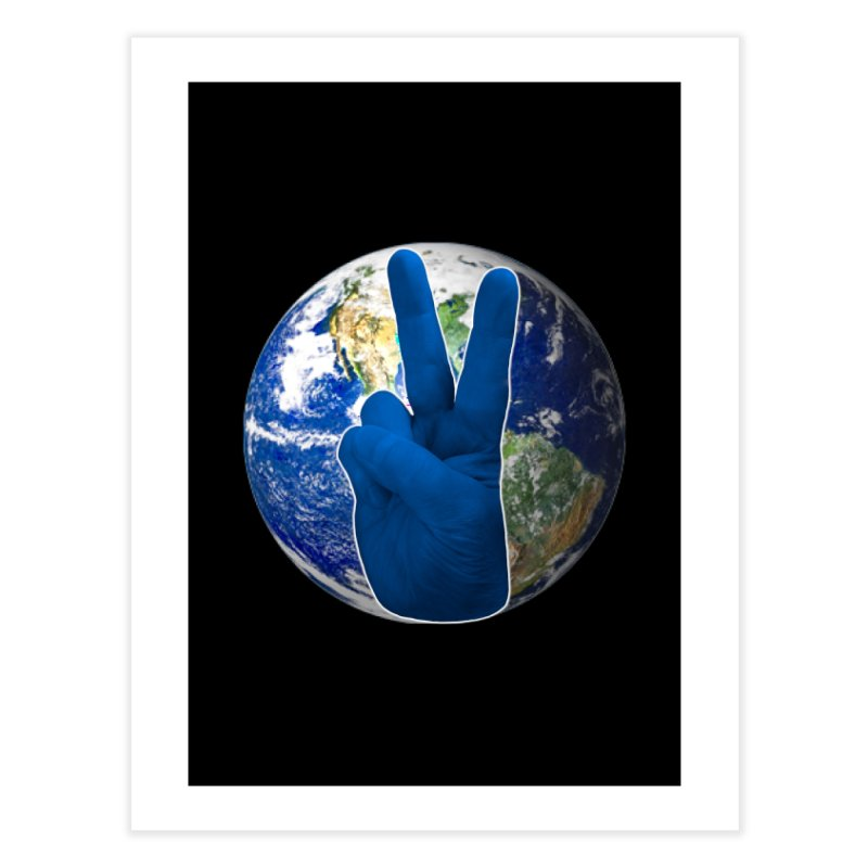 Peace Earth | Pantone 2020 Home Fine Art Print by Leading Artist Shop
