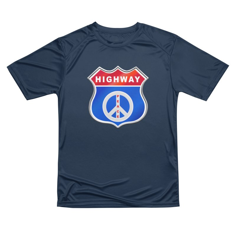 Highway To Peace Shirts Hoodies Buttons n More Women's Performance Unisex T-Shirt by Leading Artist Shop
