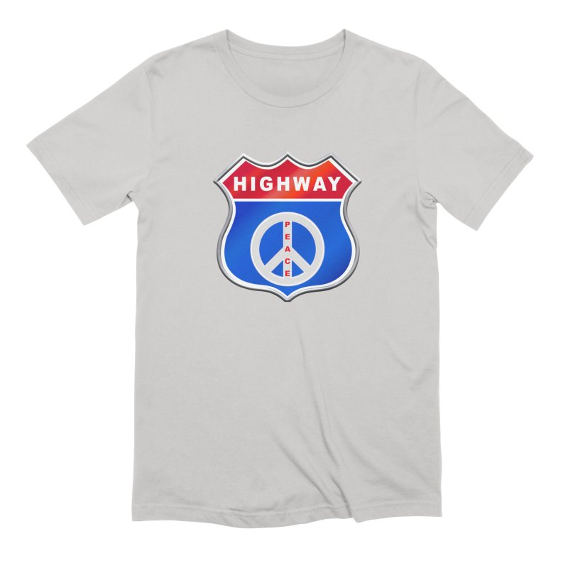 Highway To Peace Shirts Hoodies Buttons n More Men's Extra Soft T-Shirt by Leading Artist Shop