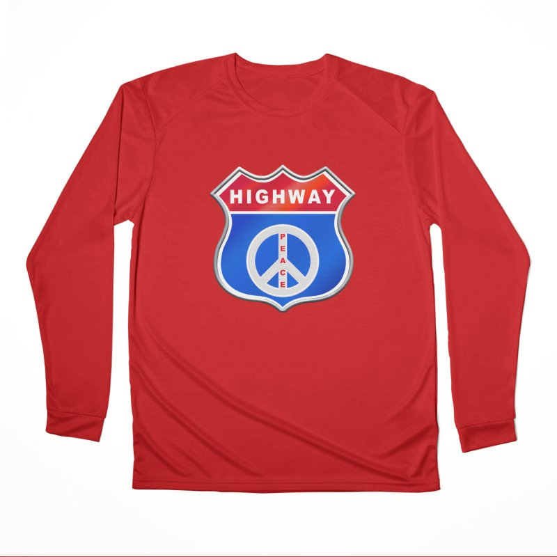 Highway To Peace Shirts Hoodies Buttons n More Men's Performance Longsleeve T-Shirt by Leading Artist Shop