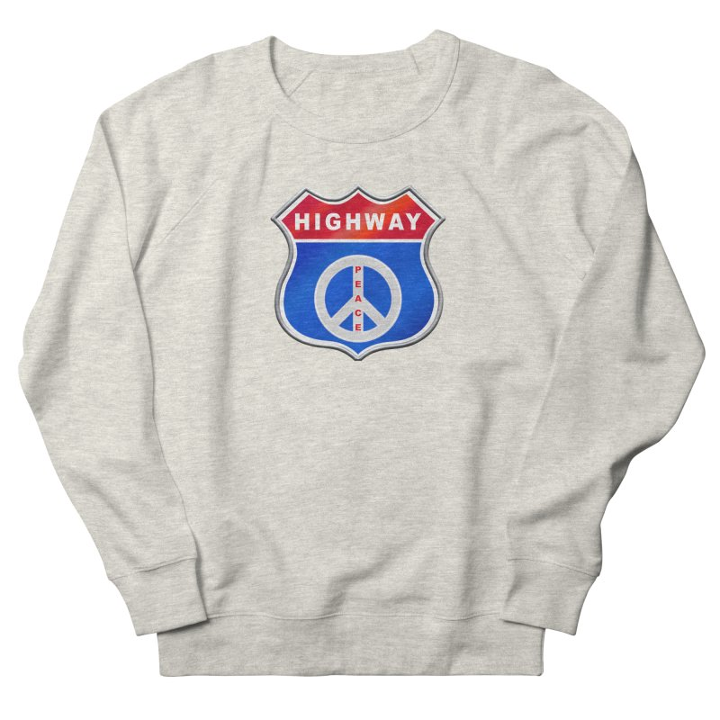 Highway To Peace Shirts Hoodies Buttons n More Men's French Terry Sweatshirt by Leading Artist Shop