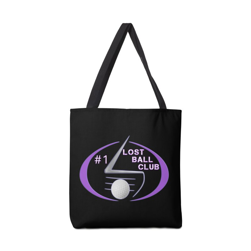Lost Ball Club - Funny Golf Shirt Accessories Tote Bag Bag by Leading Artist Shop