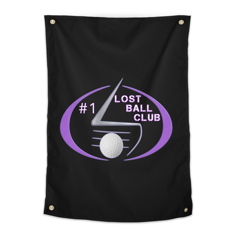 Lost Ball Club - Funny Golf Shirt Home Tapestry by Leading Artist Shop