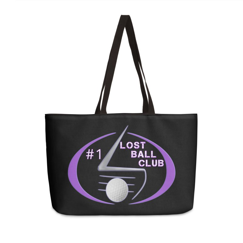 Lost Ball Club - Funny Golf Shirt Accessories Weekender Bag Bag by Leading Artist Shop