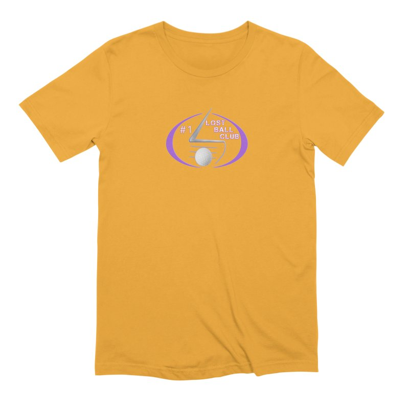 Lost Ball Club - Funny Golf Shirt Men's Extra Soft T-Shirt by Leading Artist Shop