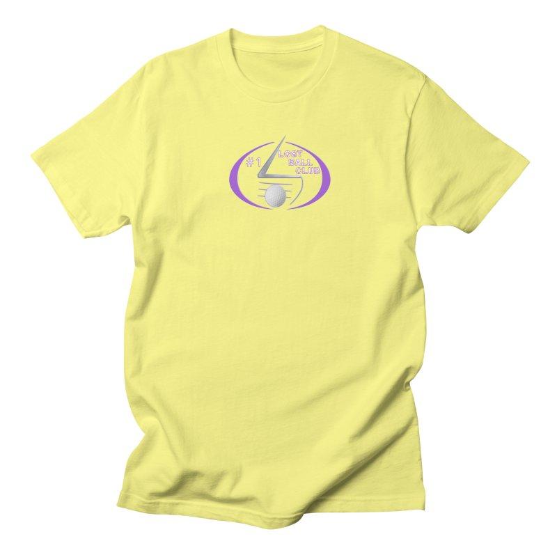 Lost Ball Club - Funny Golf Shirt Women's Regular Unisex T-Shirt by Leading Artist Shop