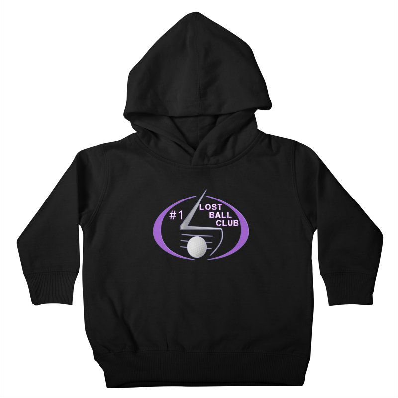 Lost Ball Club - Funny Golf Shirt Kids Toddler Pullover Hoody by Leading Artist Shop