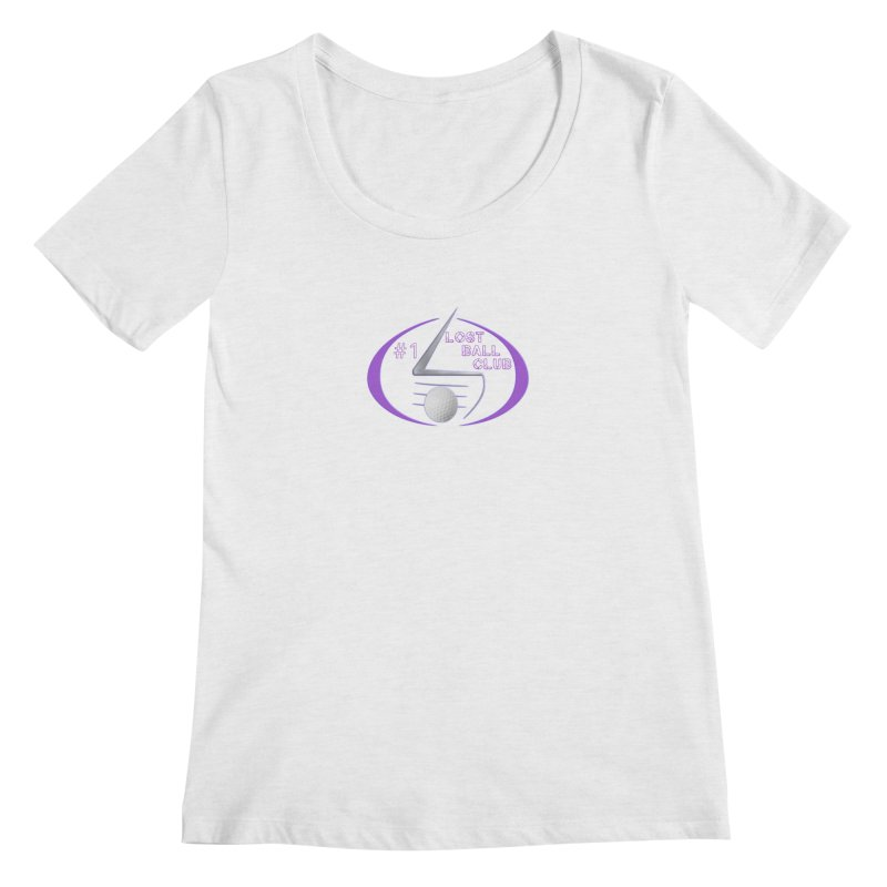 Lost Ball Club - Funny Golf Shirt Women's Regular Scoop Neck by Leading Artist Shop