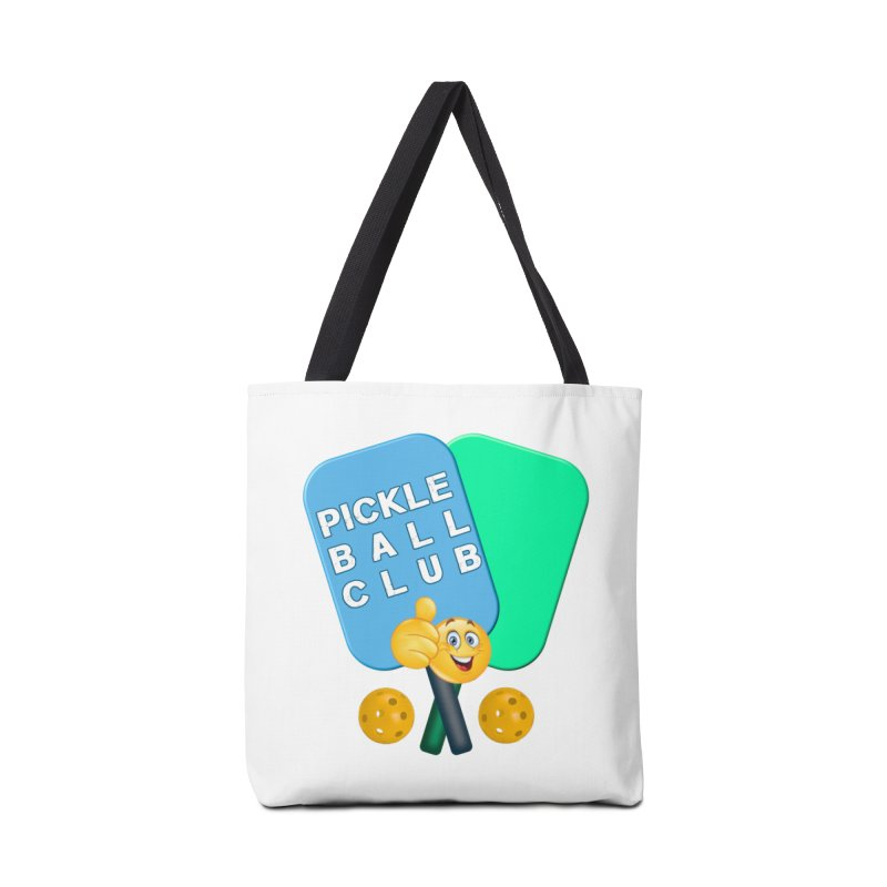 PickleBall Club Accessories Tote Bag Bag by Leading Artist Shop