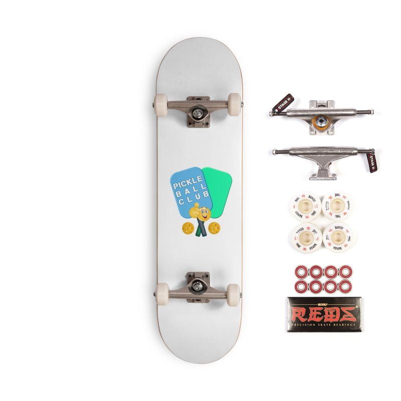 PickleBall Club Accessories Complete - Pro Skateboard by Leading Artist Shop
