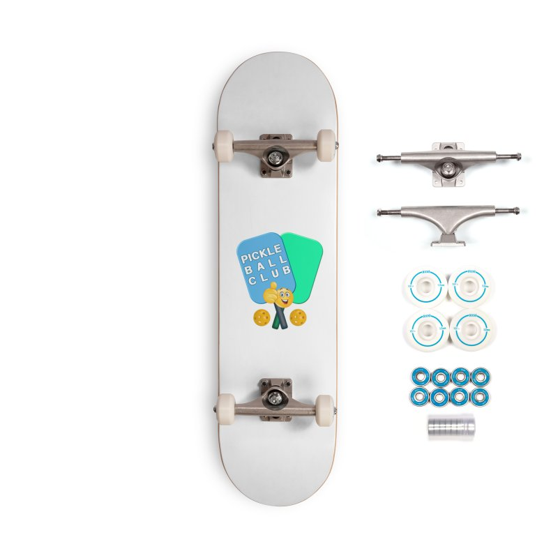 PickleBall Club Accessories Complete - Basic Skateboard by Leading Artist Shop